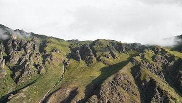 Berg und Wolken von Christoph Kötteritzsch