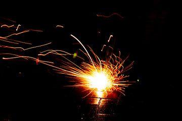 Sparkler Sparkler luidt het nieuwe jaar op oudejaarsavond effectief en sfeervol in. van Christian Feldhaar