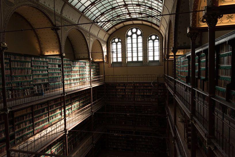 Rijksmuseum Amsterdam   Bibliothek Amsterdam   Kunstdruck von Mascha Boot