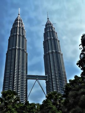 De Petronas Twin Towers Kuala Lumpur, Maleisië  sur Marcel van Berkel