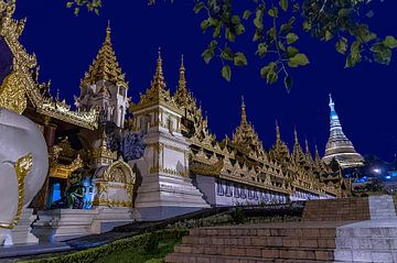 Yangon: Sule pagode van Maarten Verhees