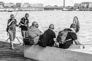 Fischer an der Maas von Daan Pleijsier