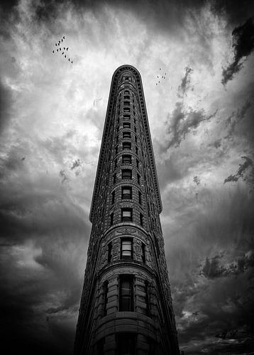 Flatiron building in New York....
