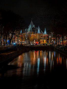 Nieuwmarkt Amsterdam | die Waag von Gerard Koster Joenje (Vlieland, Amsterdam & Lelystad in beeld)