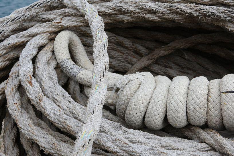 scheepstouw tros touw van Frans Versteden