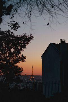 Paris Sunset Views sur Eva Ruiten