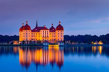 Moritzburg Duitsland van Adelheid Smitt