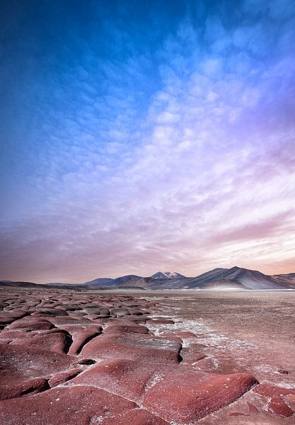 Sonnenaufgang in Chile von Jeroen Mikkers