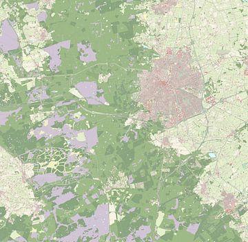 Kaart vanApeldoorn