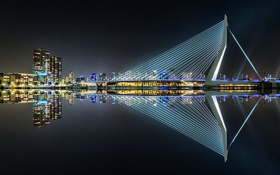 Erasmus Bridge Mirror 1
