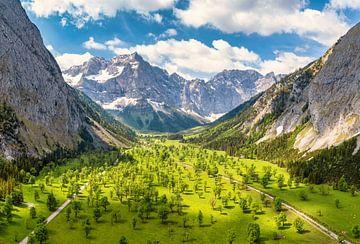 L'été au Großer Ahornboden à Karwendel sur Einhorn Fotografie