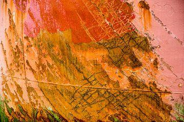 Schweißnähte, Streifen und Rost von Frans Blok