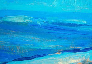 Mittelmeer so blau, so blau, so blau von Nop Briex