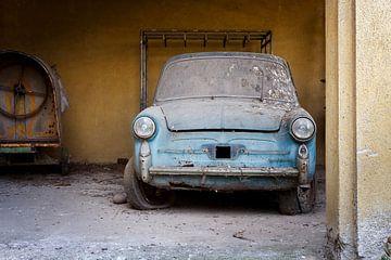 verlaten auto van Kristof Ven