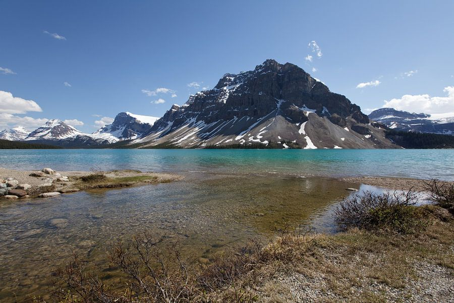 Bow Lake, Banff NP van Bart van Dinten