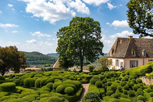 De tuinen van Marqueyssac in de Dordogne