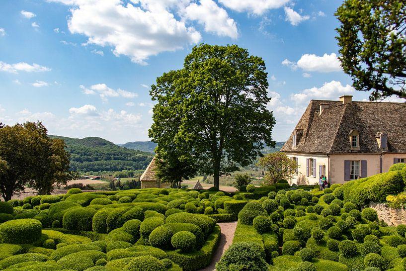 De tuinen van Marqueyssac in de Dordogne van Martijn Joosse