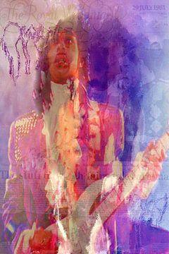 Prince Pop Art Canvas van Leah Devora