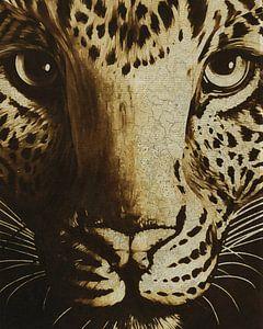 Portret van een jachtluipaard