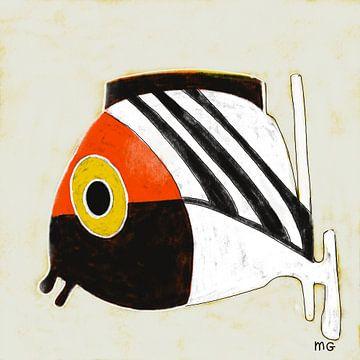 Goldfish 2 van Martin Groenhout