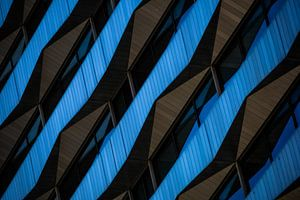 Black & blue waves