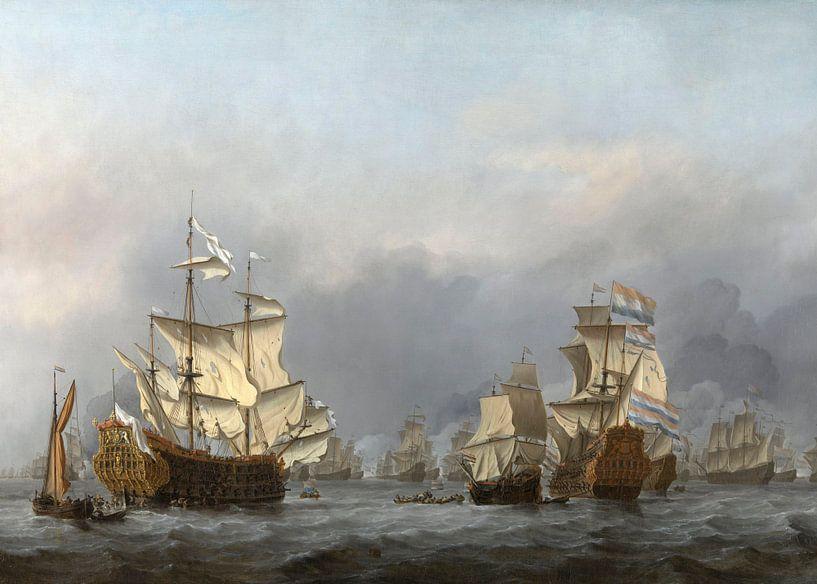 De overgave van de Royal Prince, Willem van de Velde (II) van Meesterlijcke Meesters