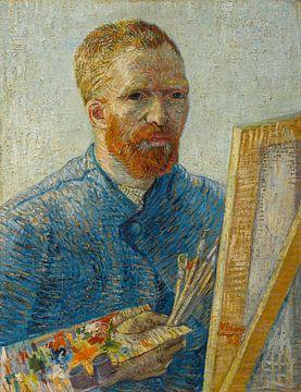 Schilderij Vincent van Gogh, Zelfportret als schilder van Schilderijen Nu