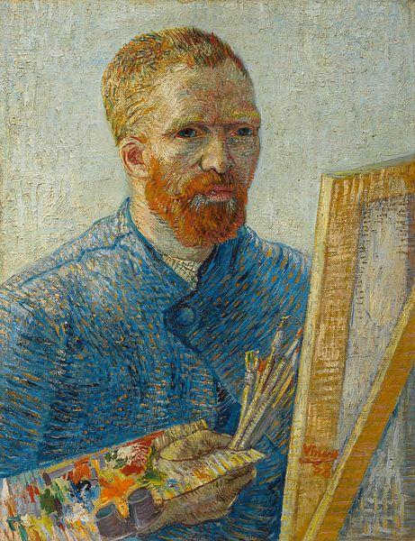 Schilderij Vincent van Gogh, Zelfportret als schilder von Schilderijen Nu