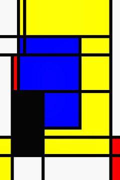 Mondrian Design von Markus Wegner