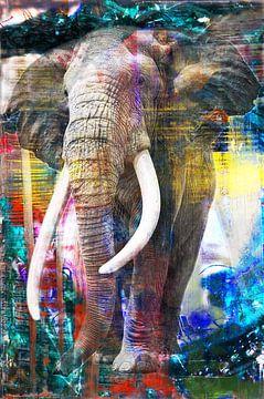 Großer Elefant von Richter, Brandt und Zanolino von Giovani Zanolino