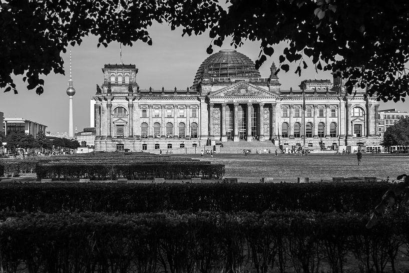 Le bâtiment du Reichstag à Berlin sur Frank Herrmann