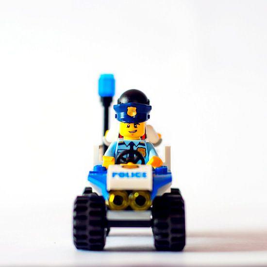 Lego Police van Lego poppetje