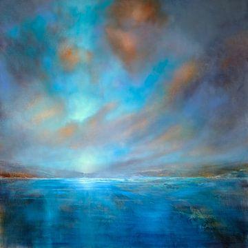 Blaue Weite van Annette Schmucker
