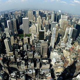 Skyline New York van Willem Vernes