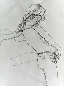 21 – figurative Zeichnung von Kim Rijntjes