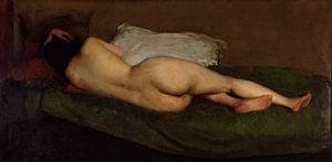Nude reclining, Hugh Ramsay