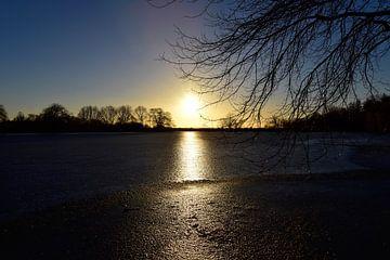 Meer in de winter van Marcel Ethner