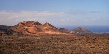 Timanfaya Nationaal Park - Lanzarote van Robin Oelschlegel