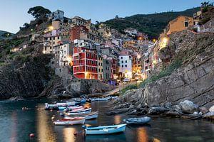 Riomaggiore, Cinque Terre, Italië van Jeroen van Rooijen