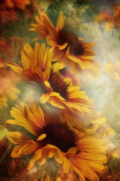 Kokardenblume van Gabriele Haase