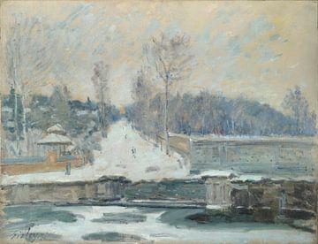 Die Wasserstelle von Marly-le-Roi, Alfred Sisley