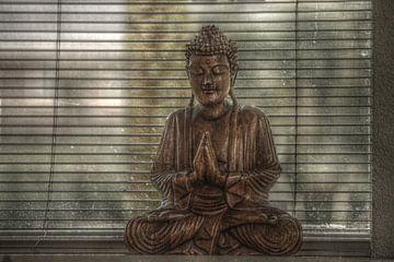 Boeddha (HDR) von Lisa-Valerie Gerritsen