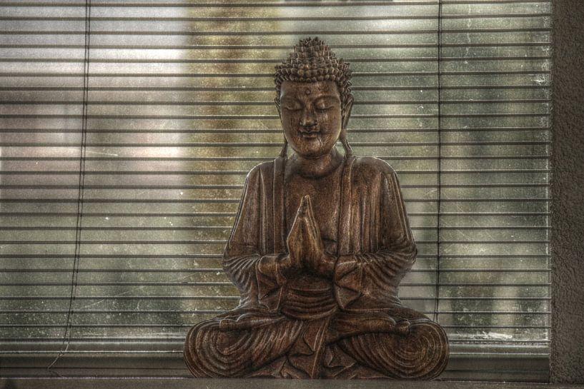 Boeddha (HDR) van Lisa-Valerie Gerritsen