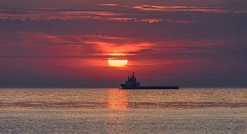 nautischen Sunset von Alex Hiemstra
