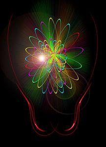 Licht und Energie ist Magie von