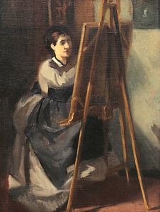 Die junge Studentin, Eva Gonzalès