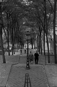 De trappen van Montmartre