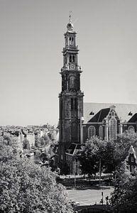 Westertoren Amsterdam van