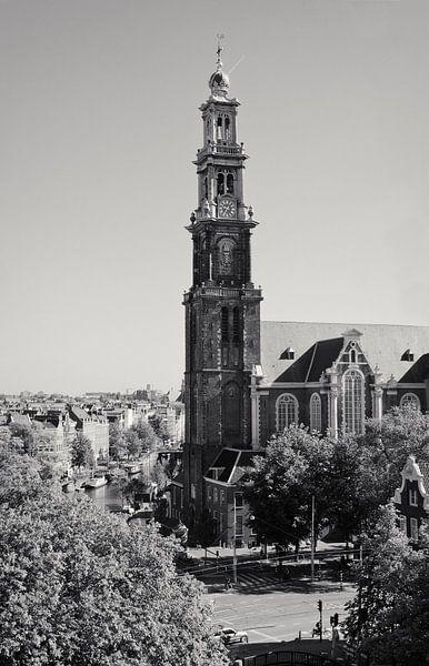Westertoren Amsterdam van Tom Elst