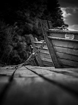 Boote am Steg von Alexander Dorn